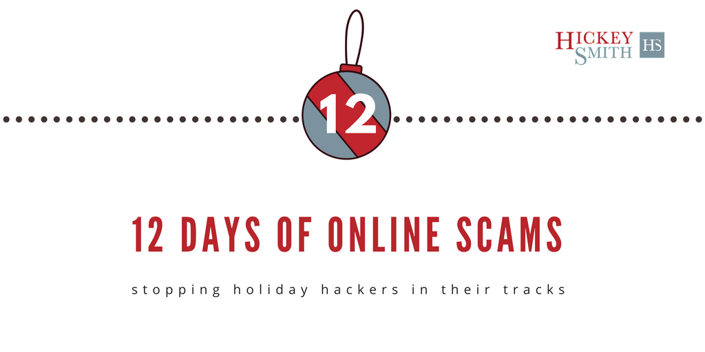 12 Days of Online Scams